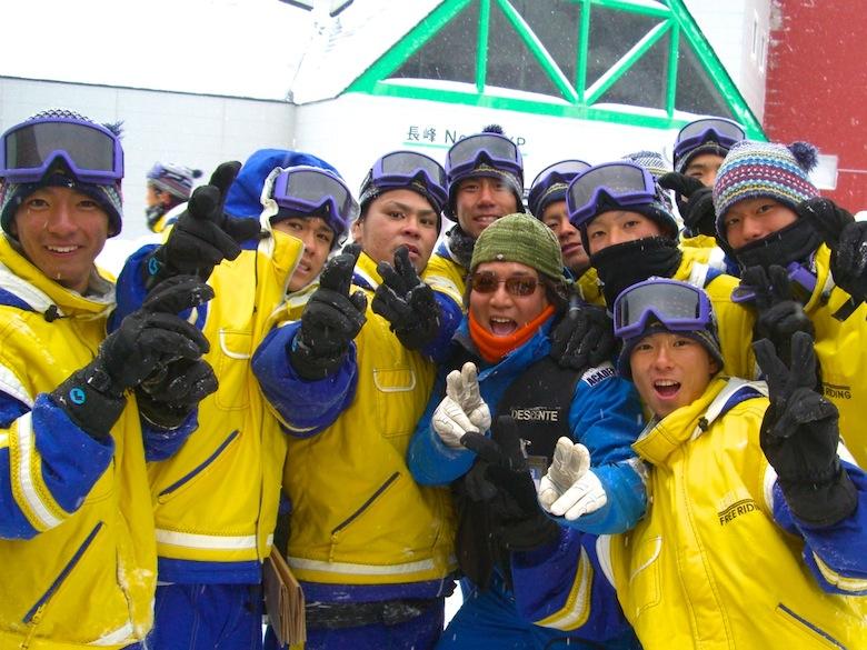 スキー三昧!!