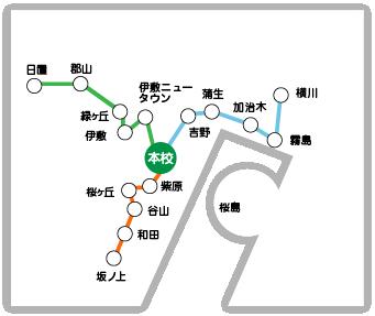 鹿児島県内を走るスクールバスは3路線!